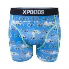 Men boxer Xpooos bike trip