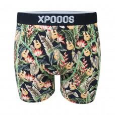 Men boxer Xpooos hawaii blues